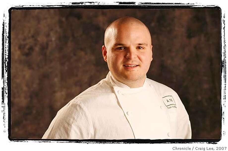RISINGSTARS07_488_cl.JPG  Rising Star Chefs. Photo of Nate Appleman, A16, San Francisco. Event on 2/19/07 in San Francisco. photo by Craig Lee / The Chronicle  Ran on: 01-30-2008  Nate Appleman, chef and co-owner of A16 and SPQR, is now the sole executive chef for both restaurants. Photo: Photo By Craig Lee