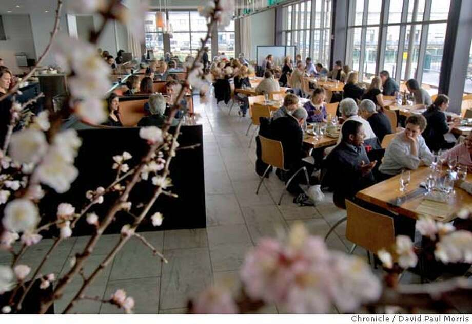 SAN FRANCISCO, CA - : The Slanted Door in San Francisco, CA . Top 100 restaurants in the Bay Area (Photo by David Paul Morris/The Chronicle Photo: David Paul Morris