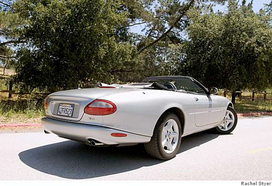 When Tabucci bought his XK8 in 2004 for $30,000, it was in ?excellent condition? with just 20,000 miles on it. ?I think it was ? and still is ? a steal of a deal,? he says. Photo: Rachel Styer