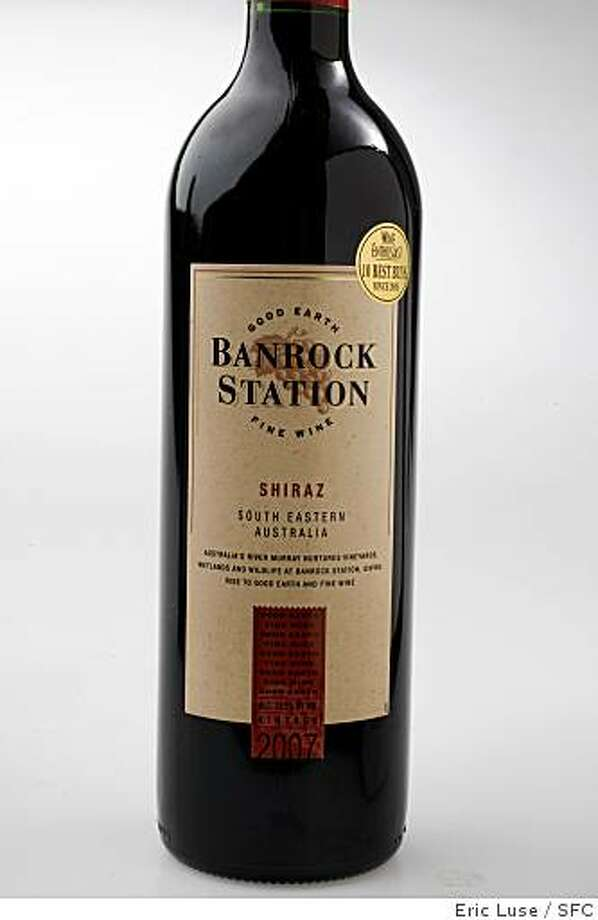 2007 Banrock Station South Eastern Australia wine  photographed on Thursday, June 11, 2009. Photo: Eric Luse, SFC