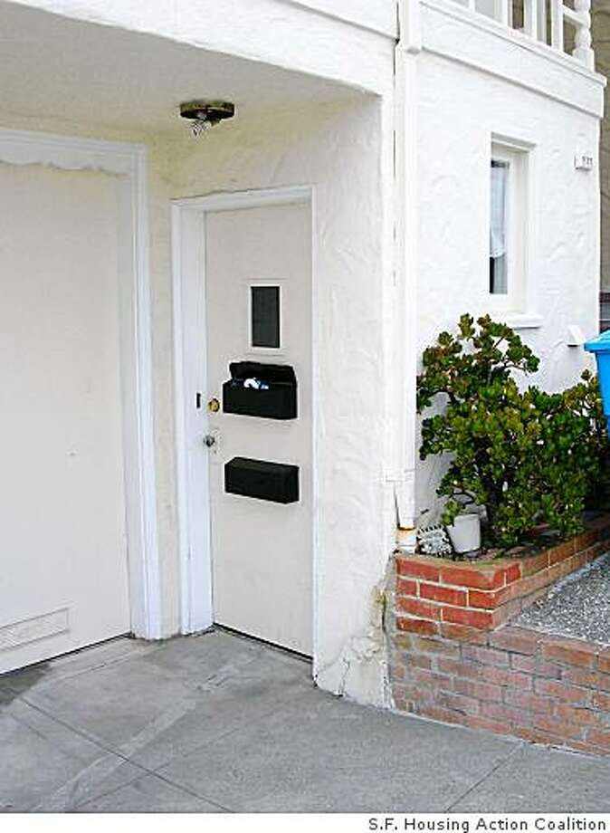 Proposed legislation would allow homeowners with illegal second units to make them legal. This would protect homeowners and tenants and allow city government to have an accurate count of how many people live in San Francisco. Photo: None, S.F. Housing Action Coalition