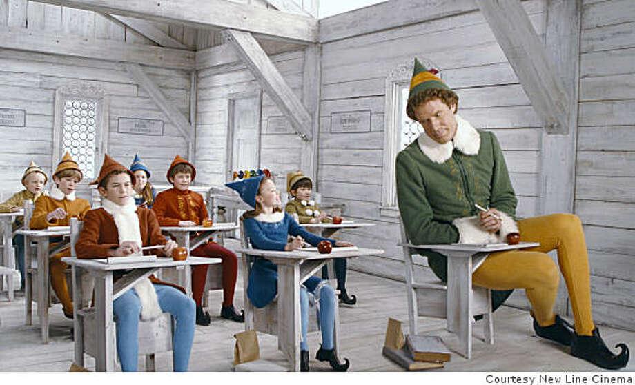 Will Ferrell stars as 'Buddy' the Elf. Photo: Courtesy New Line Cinema, SFC
