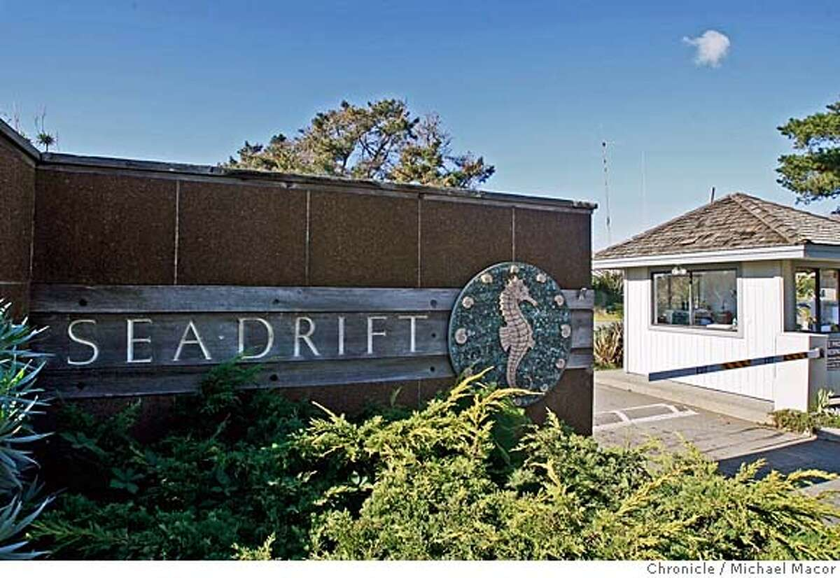 seadrift_169_mac.jpg The entrance to the Seadrift community is guarded and open to residents and guests only. A Mill Valley man is suing the Seadrift homeowners association because he was booted off part of the beach he says is public and they say is private. Michael Macor / The Chronicle Photo taken on 12/8/07, in Stinson Beach, CA, USA MANDATORY CREDIT FOR PHOTOG AND SAN FRANCISCO CHRONICLE/NO SALES-MAGS OUT