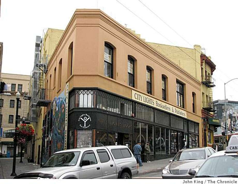 City Lights Bookseller is a good little building as well as a cultural landmark Photo: John King, The Chronicle