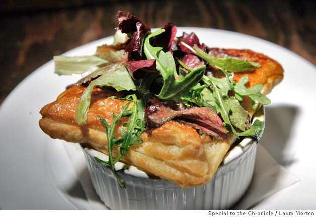 Pot Pie at Monk's Kettle, a high end beer bar in the Mission District that also serves food. (Laura Morton/Special to the Chronicle) Photo: Laura Morton