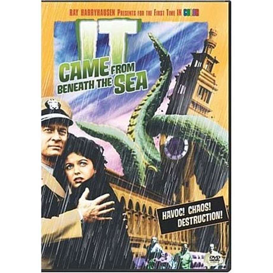 dvd cover IT CAME FROM BENEATH THE SEA Photo: Amazon.com