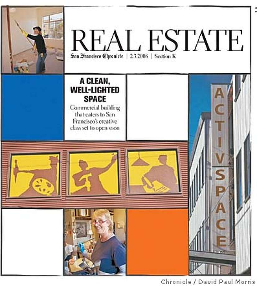 Real Estate cover. Chronicle photo by David Paul Morris