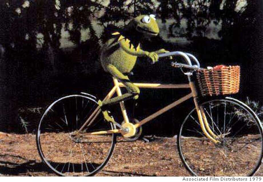 "Kermit starred in 1979's ""The Muppet Movie."" Photo: Associated FIlm Distributors"