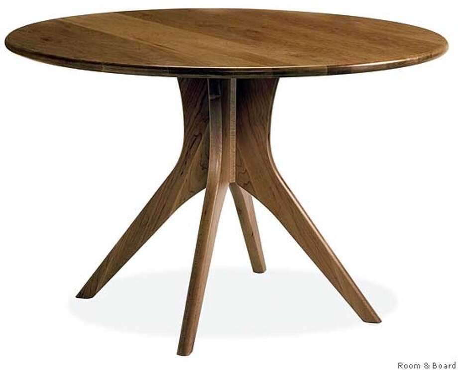The new Bradshaw table from Room&Board Photo: Ho