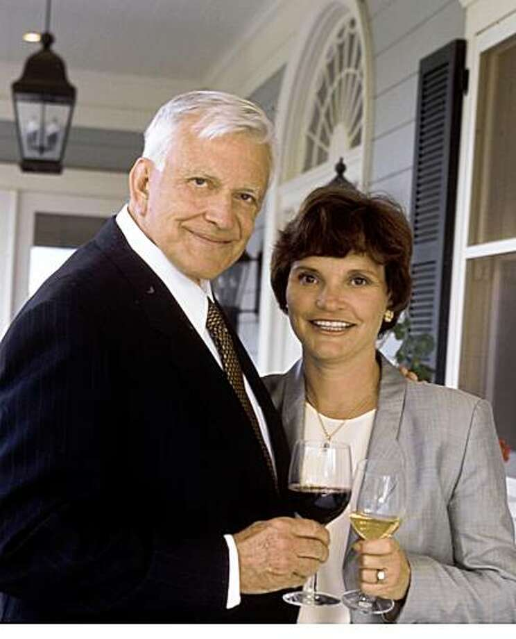 Jess Jackson and his wife, Barbara Banke, proprietors of Kendall-Jackson Wine Estates