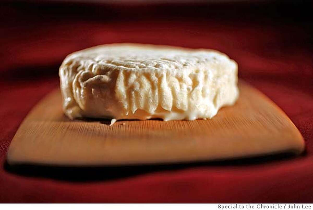 CHEESE01_02_JOHNLEE.JPG Brunet cheese. By JOHN LEE/SPECIAL TO THE CHRONICLE