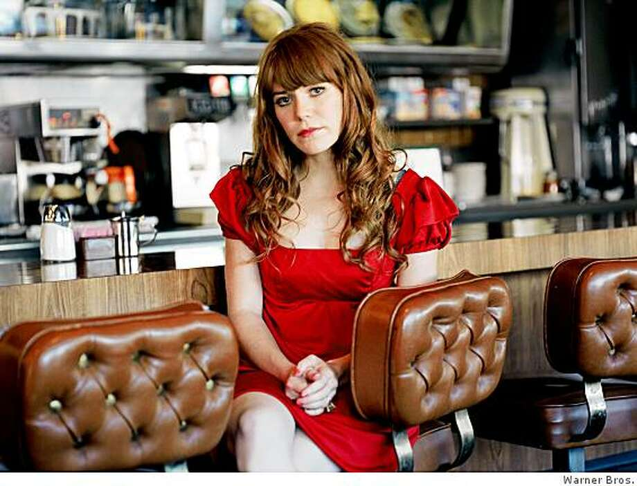 Rilo Kiley singer - and former child star - Jenny Lewis plays a pair of solo shows at the Fillmore May 28-29. Photo: Warner Bros.
