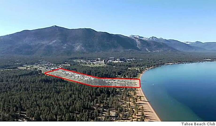 Aerial Photo: Tahoe Beach Club