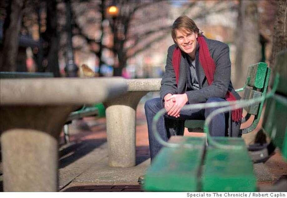 Author Tom Dolby in New York. 1/10/08. Photographer: Robert Caplin For The San Francisco Chronicle Photo: ROBERT CAPLIN