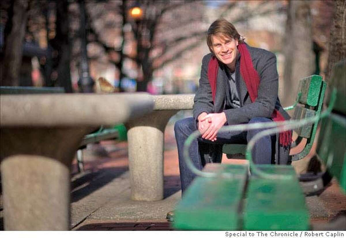 Author Tom Dolby in New York. 1/10/08. Photographer: Robert Caplin For The San Francisco Chronicle