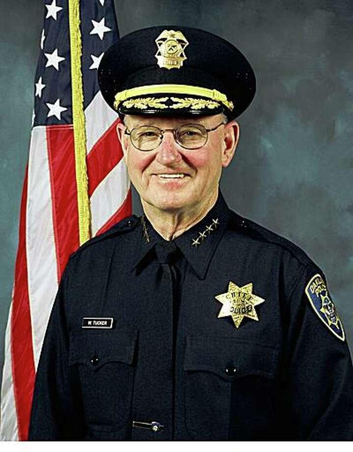 Oakland Police Chief Wayne Tucker Photo: HO