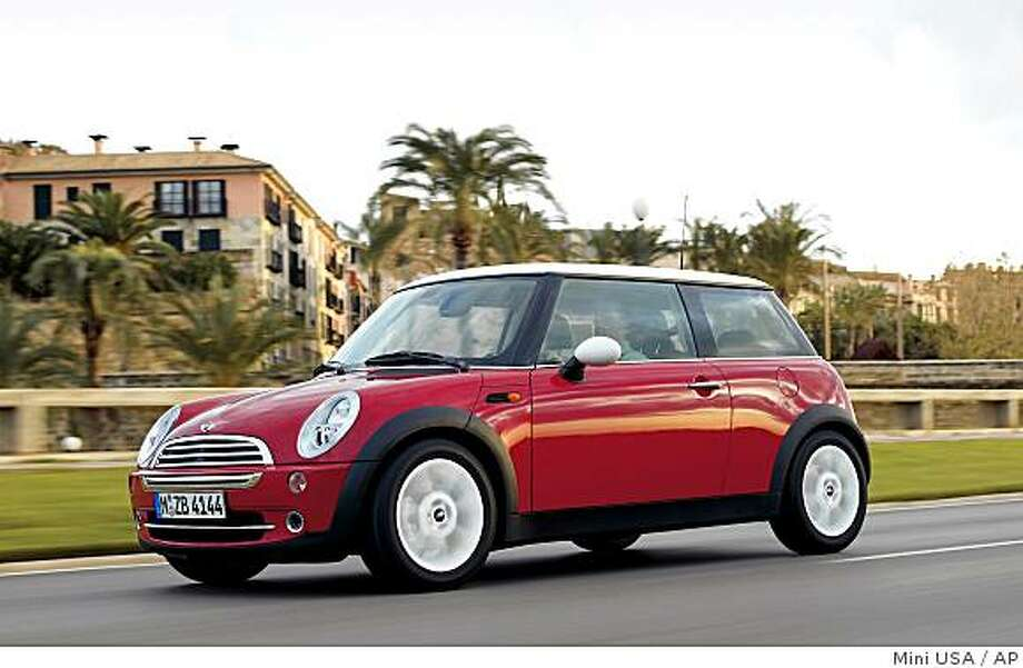 mini cooper Photo: Mini USA, AP