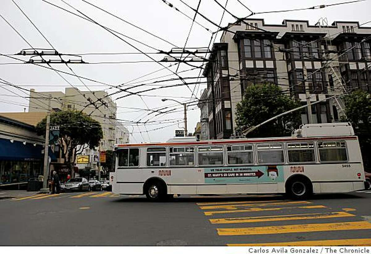 The 24-Divisadero slices through San Francisco's demographics -- starting in Bayview-Hunters Point, one of the city's poorest neighborhoods, and ending in Pacific Heights, one of the wealthiest.