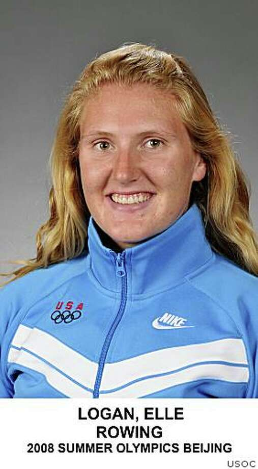 Elle Logan, rowing on the 2008 Summer Olympics in Beijing.Credit: USOC Photo: USOC