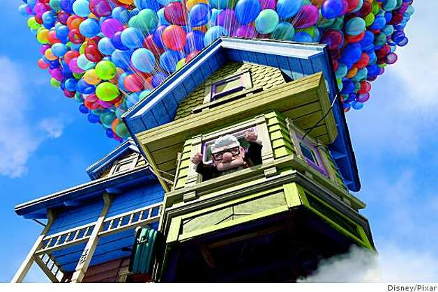 "Carl Fredricksen in ""UP"" Photo: Disney/Pixar"