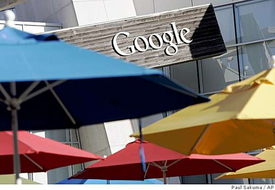 Google is trying to erase employee losses by offering to reset the exercise price on most of its outstanding stock options. The new exercise price, which is an employee?s cost for redeeming the option, will mirror Friday?s closing price of $308.57 for Google?s stock. Photo: Paul Sakuma, AP