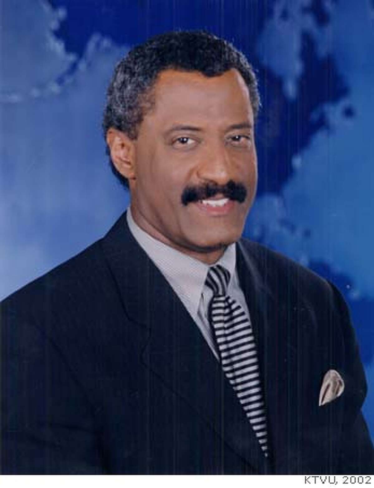 CARMAN23/C/21MAR00/DD/HO-Dennis Richmond, KTVU anchorman HANDOUT ALSO RAN: 05/27/2000 ALSO RAN 05/25/02 CAT