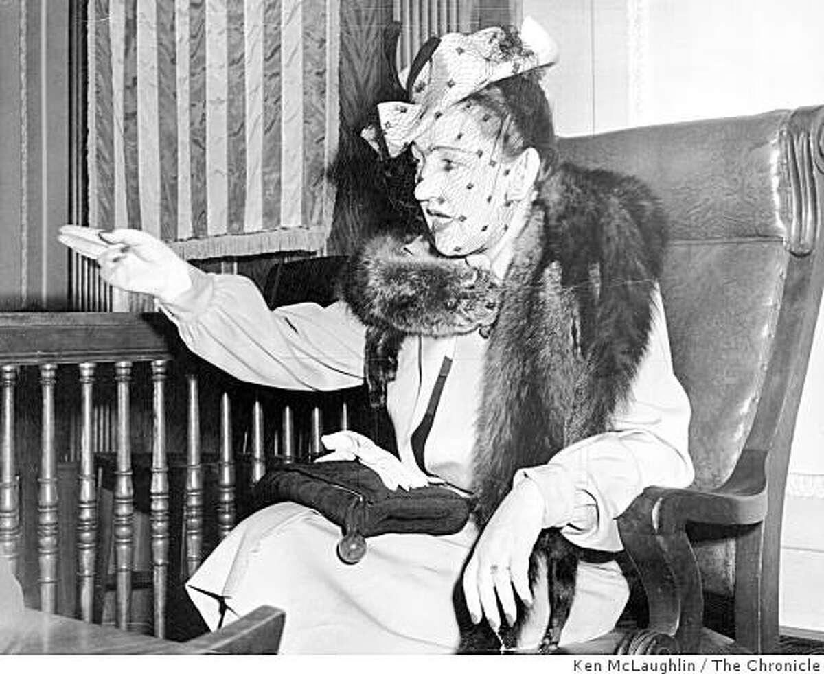 April 1, 1947 - Sally Stanford