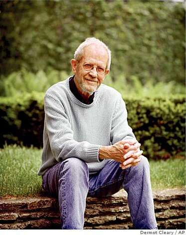 "In this publicity image released by William Morrow, Elmore Leonard author of ""Road Dogs,"" is shown. (AP Photo/William Morrow, Dermot Cleary) ** NO SALES ** Photo: Dermot Cleary, AP"