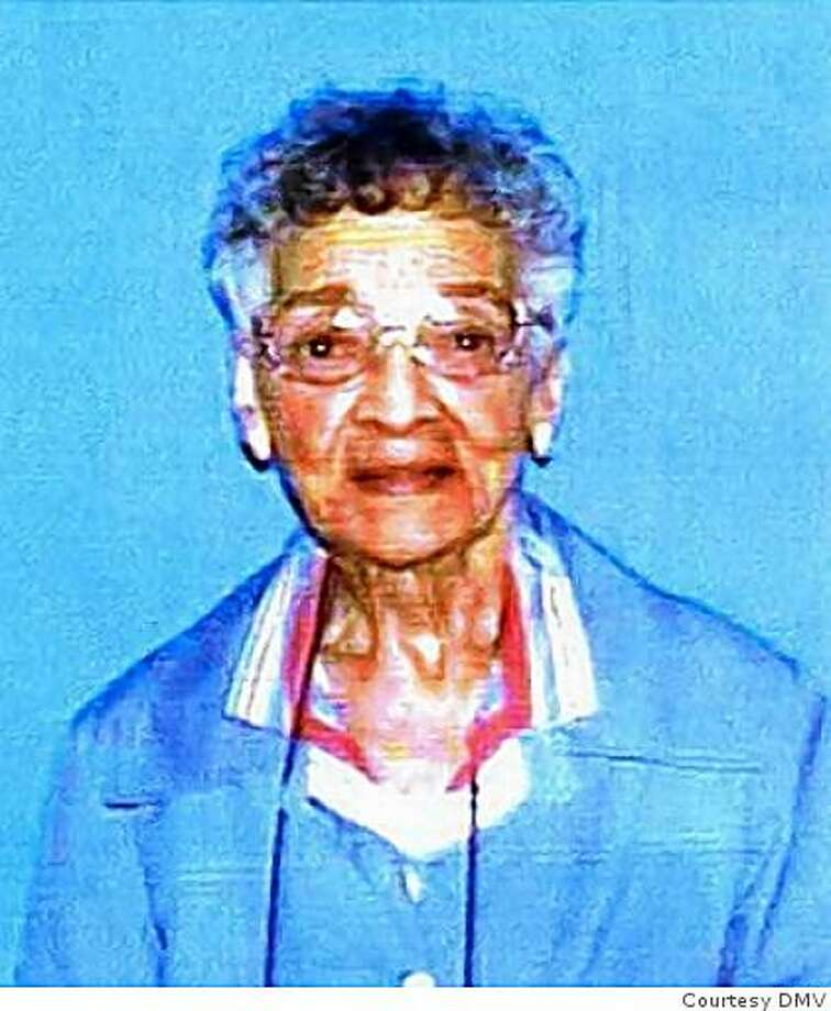 Ivarene Lett, a 97-year-old Oakland resident, was found beaten to death in her apartment on May 11. Oakland police said they believed she is the city's oldest homicide victim. Photo: Courtesy DMV