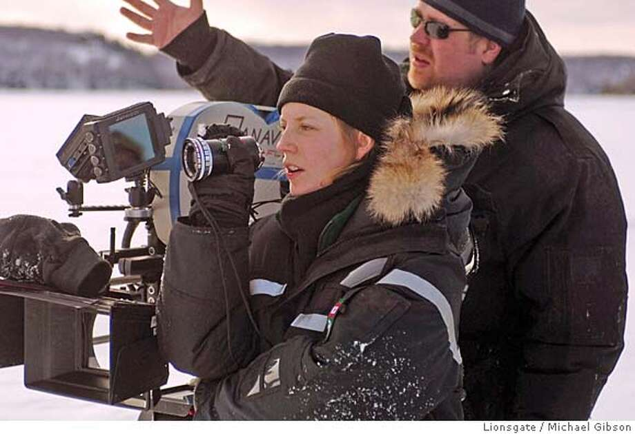 Director Sarah Polley on the set of her film AWAY FROM HER. Photo credit: Michael Gibson Lions Gate Publicity  Ran on: 05-06-2007  Sarah Polley on the set of &quo;Away From Her,&quo; her first film as a director.  Ran on: 01-06-2008  Sarah Polley on the set of &quo;Away From Her,&quo; the Canadian actress' directorial debut film. Photo: Michael Gibson