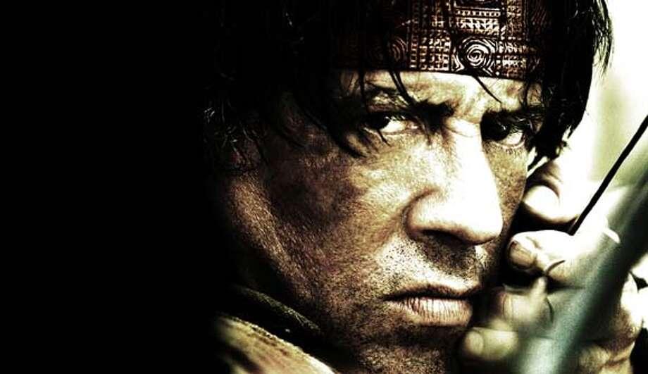 Sylvester Stallone as Rambo Photo: Break.com/rambo