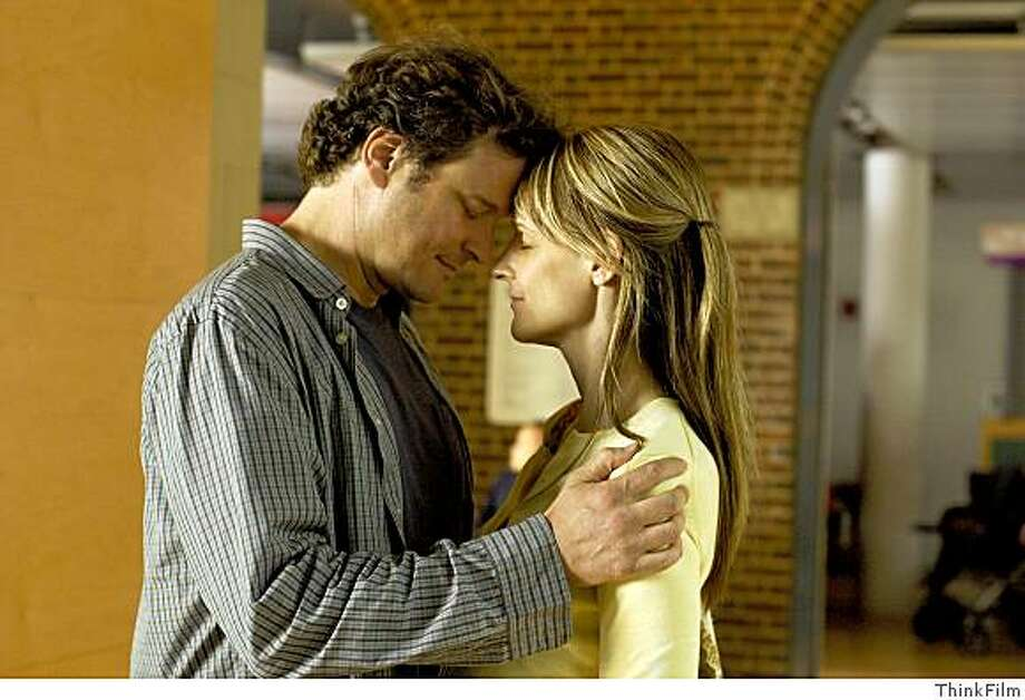 """Colin Firth and Helen Hunt in """"Then She Found Me"""" 2008 Photo: ThinkFilm"""