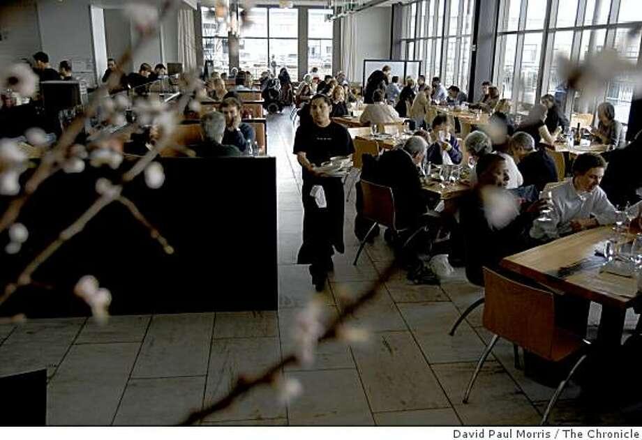 SAN FRANCISCO, CA - :  The Slanted Door in San Francisco, CA . Top 100 restaurants in the Bay Area (Photo by David Paul Morris/The Chronicle Photo: David Paul Morris, The Chronicle