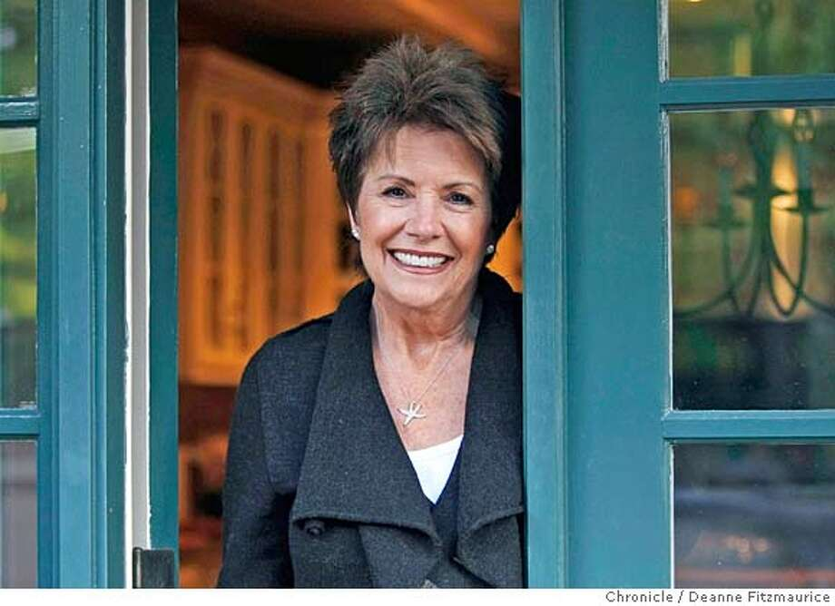 ja_addario_001_df.jpg  Bonnie J. Addario is a lung cancer survivor and founder of the Bonnie J. Addario Lung Cancer Foundation. Photographed in San Carlos on 12/18/07. Deanne Fitzmaurice / The Chronicle Mandatory credit for photographer and San Francisco Chronicle. No Sales/Magazines out. Photo: Deanne Fitzmaurice