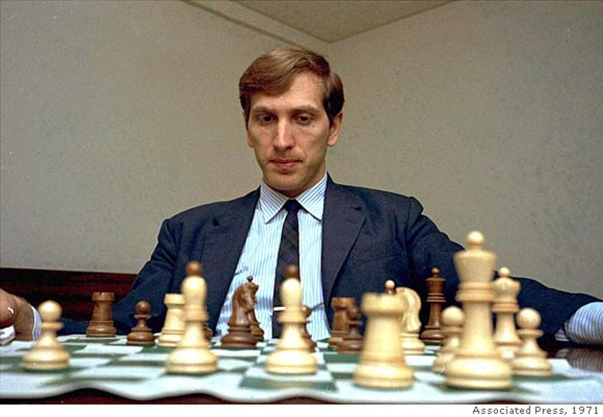 ** FILE ** Former world chess champion, America's Bobby Fischer is pictured in this August 10, 1971 photo at an unknown location in the USA. Fischer, the reclusive chess genius who became a Cold War hero by dethroning the Soviet world champion in 1972 and later renounced his American citizenship, died Thursday Jan. 17, 2008. He was 64. (AP Photo)