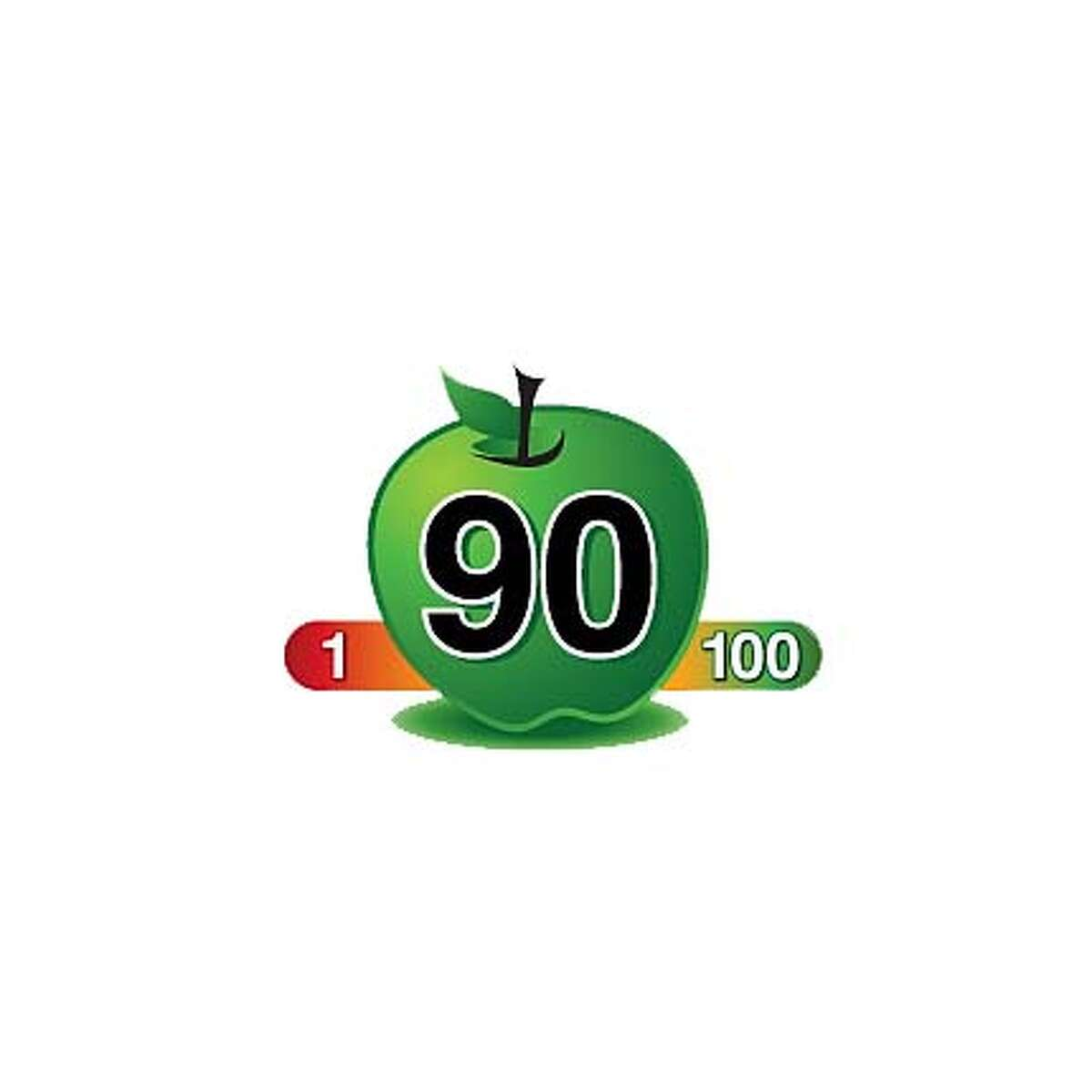 This label would be added to foods that have been scored according to the Overall Nutritional Quality Index, a new system for rating how healthy foods are. Healtheir foods received higher scores. Courtesy of Toopco Associates.