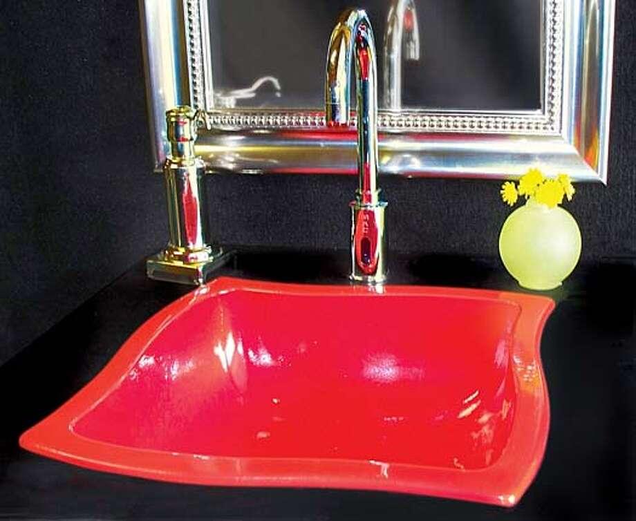Enviro Bath 39 S Sinks Made Of 100 Recycled Metal Sfgate