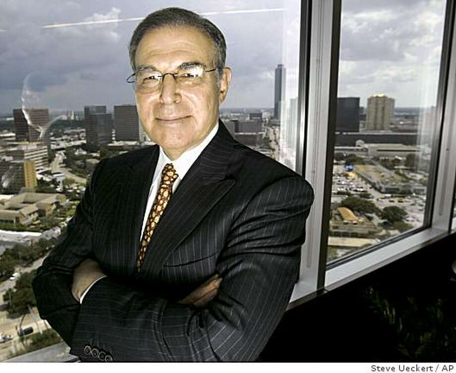 Financier Charles Hurwitz, ?who took over Pacific Lumber Co. in 1986? and touched off a storm of protest with his tree-cutting practices, must go to trial in a lawsuit filed by a former state forestry director accusing him of defrauding the federal government into paying $250 million? for the pristine Headwaters Forest, a federal judge has ruled. Photo: Steve Ueckert, AP
