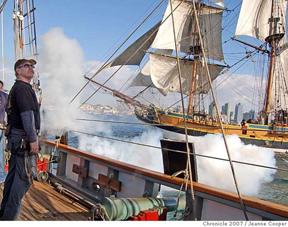 sailing ship fire smoke - photo #16