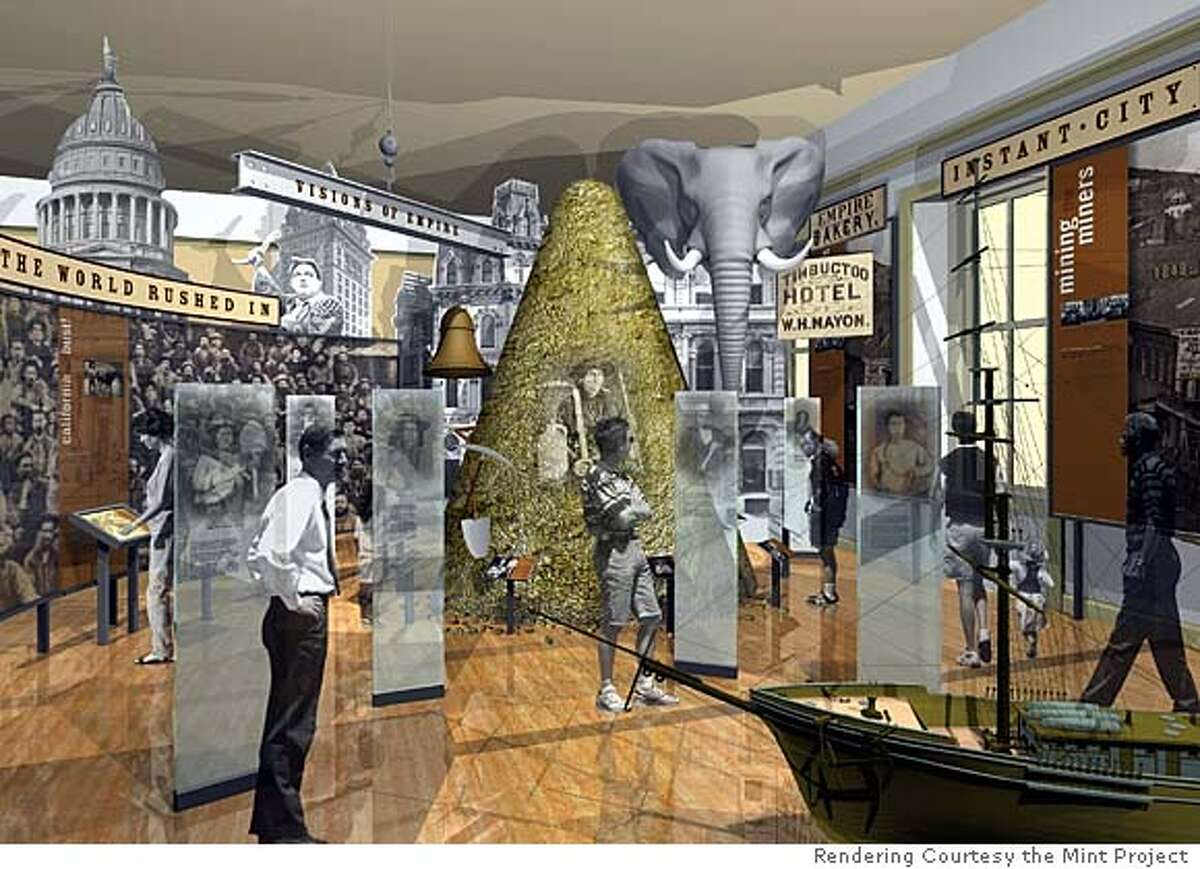 renderings of The Mint Project museum