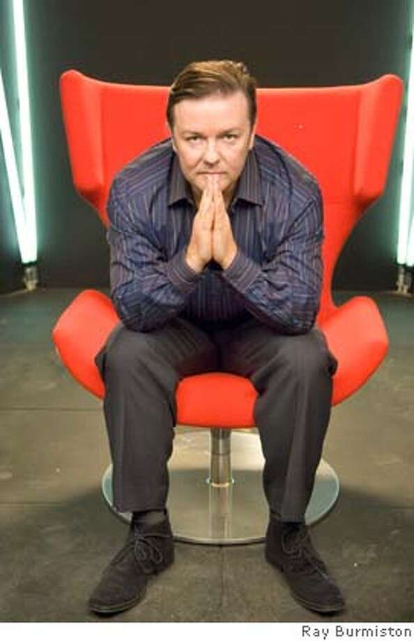EXTRAS: THE EXTRA SPECIAL SERIES FINALE: Ricky Gervais. photo: Ray Burmiston Photo: Photo: Ray Burmiston