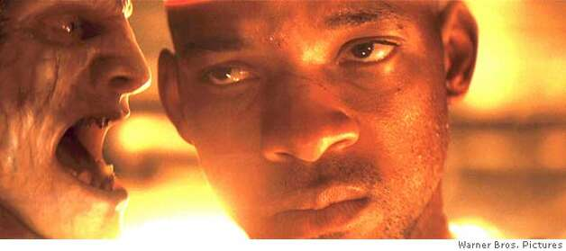 An Infected with WILL SMITH as Robert Neville in a scene from Warner Bros. Pictures� and Village Roadshow Pictures� sci-fi action adventure �I Am Legend,� distributed by Warner Bros. Pictures. PHOTOGRAPHS TO BE USED SOLELY FOR ADVERTISING, PROMOTION, PUBLICITY OR REVIEWS OF THIS SPECIFIC MOTION PICTURE AND TO REMAIN THE PROPERTY OF THE STUDIO. NOT FOR SALE OR REDISTRIBUTION Photo: Courtesy Of Warner Bros. Picture