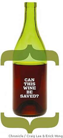 Can this wine be saved methods of preserving an open for How to preserve wine after opening bottle