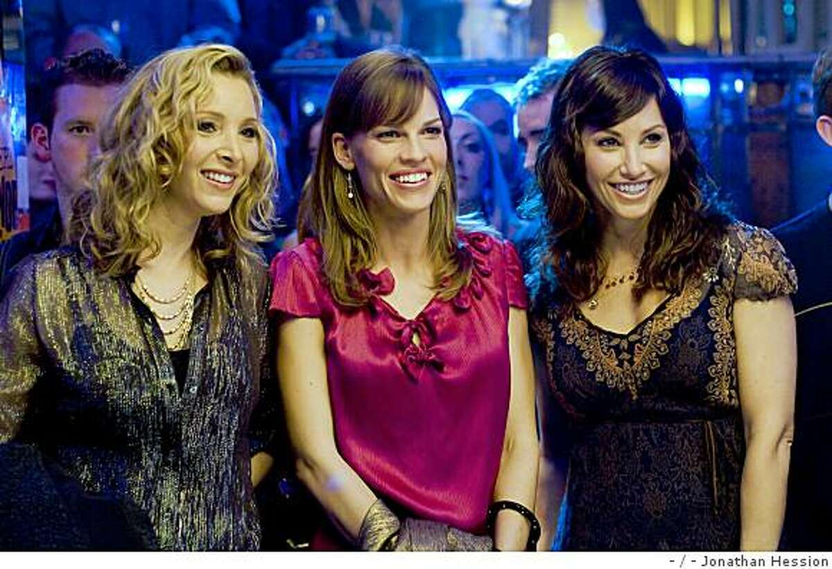 L-r) LISA KUDROW as Denise, HILARY SWANK as Holly Kennedy and GINA GERSHON as Sharon in Alcon Entertainment's romantic comedy