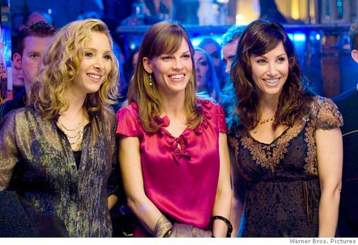 - (L-r) LISA KUDROW as Denise, HILARY SWANK as Holly Kennedy and GINA GERSHON as Sharon in Alcon Entertainment's romantic comedy