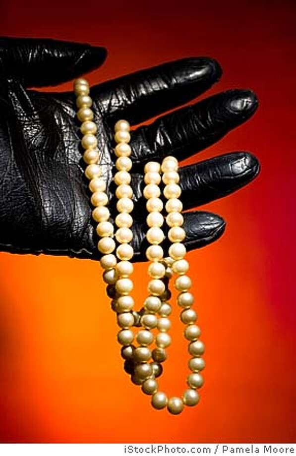 robbery pearls glove burglary  Ran on: 12-16-2007 Ran on: 12-16-2007 Photo: Pamela Moore / IStockPhoto.com