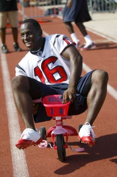 52. Trindon Holliday - WR, 2010, Round 6, 197 overall (Karen Warren / Houston Chronicle)