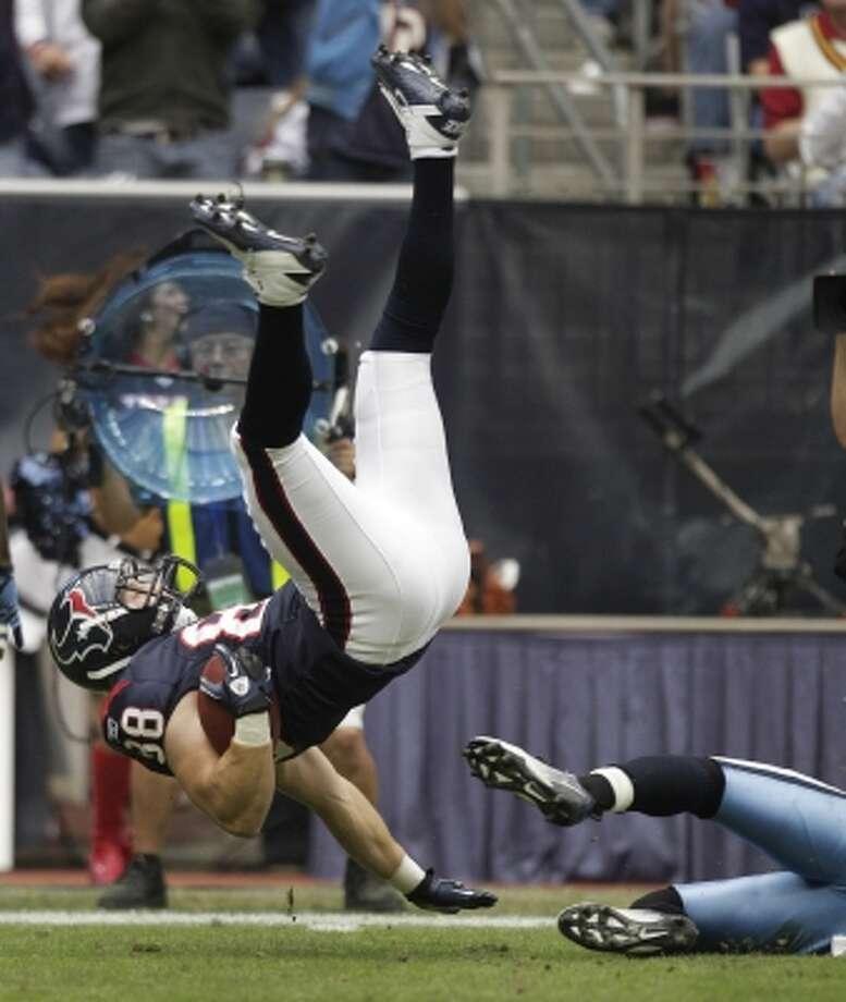 36. Garrett Graham - TE, 2010, Round 4, 118 overall (Brett Coomer / Houston Chronicle)