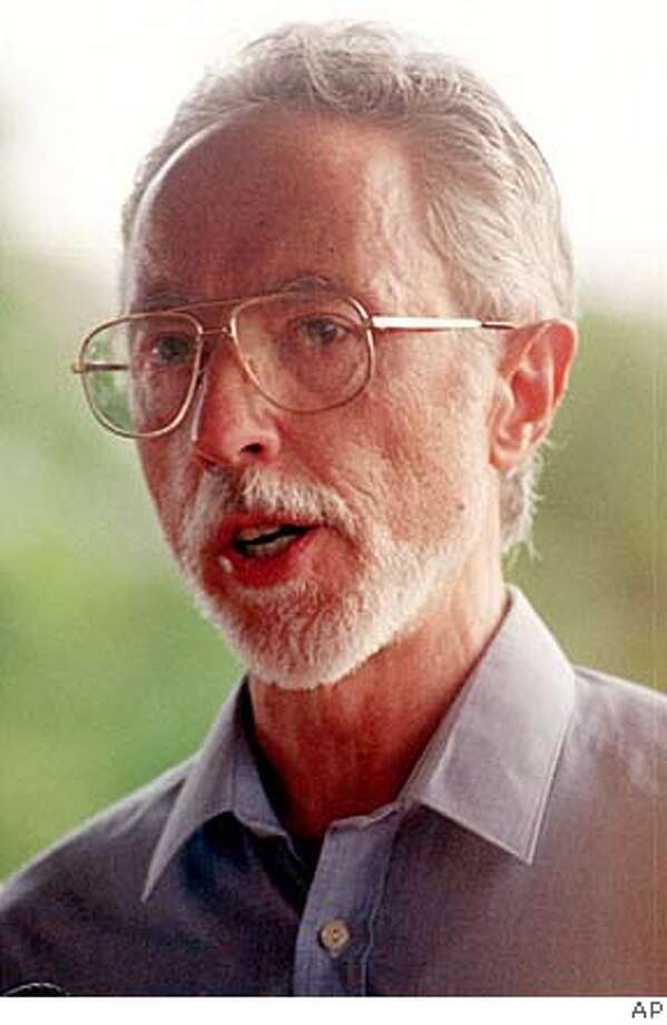 South African writer J.M. Coetzee is seen in this undated file photo. Coetzee has won the 2003 Nobel Prize for literature, it was announced Thursday Oct. 2, 2003. (AP Photo)  Ran on: 01-06-2008  J.M. Coetzee won the Nobel Prize for Literature in 2003. Photo: No Byline