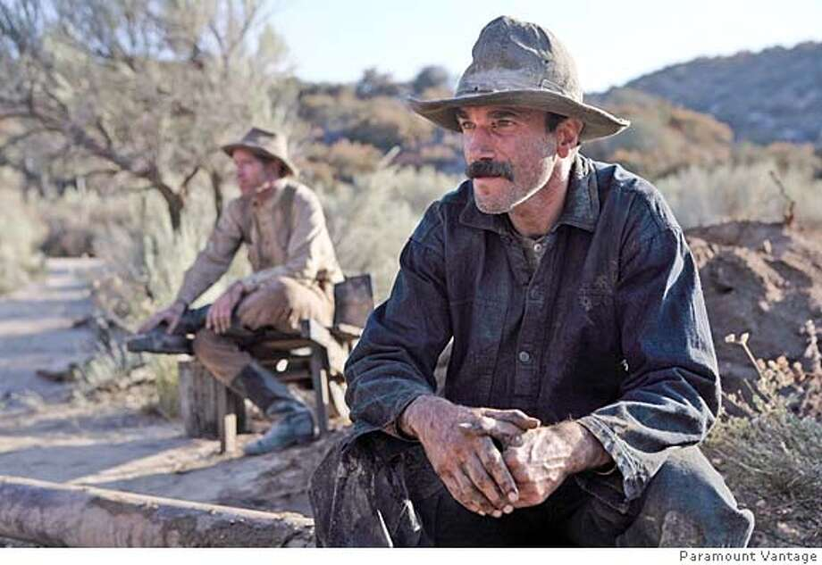 "**FILE** This still image released by Paramount Pictures shows Daniel Day-Lewis as ""Daniel Plainview"" starring in Paul Thomas Anderson's ""There Will Be Blood."" (AP Photo/Francois Duhamel, FILE) MAGE RELEASED BY PARAMOUNT PICTURES. NO SALES. FILE. Photo: Francois Duhamel"